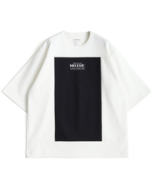 SHAREEF(シャリーフ)のMILAN RIB SQUARE S/S(Tシャツ/カットソー)