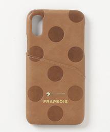 79c44c19dd FRAPBOIS(フラボア)の「ドット柄iPhoneケースforiPhoneX,XS(モバイルケース
