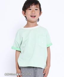 【coen キッズ / ジュニア】プレーティングUSAコットンTシャツ