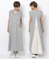 「SWEAT V-NECK DRESS 2」
