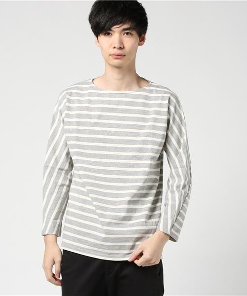 lideal(リデアル)の「【Lideal/リディアル】カットソー JAMES/ジェームス(Tシャツ/カットソー)」|グレー