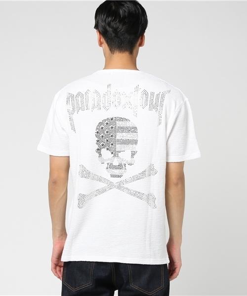 【C.D.S Black Sense】FLAGスカルTシャツ