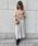 un dix cors(アンディコール)の「割繊ギャザースカート(スカート)」 詳細画像