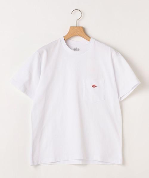 【Danton】フロントポケットクルーネックTシャツ