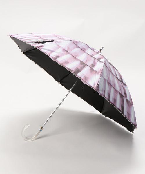 """晴雨兼用傘 """"刺繍フリル"""""""