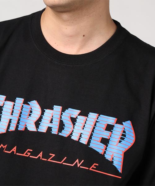 THRASHER BAR MAG L/S TEE (17FW)