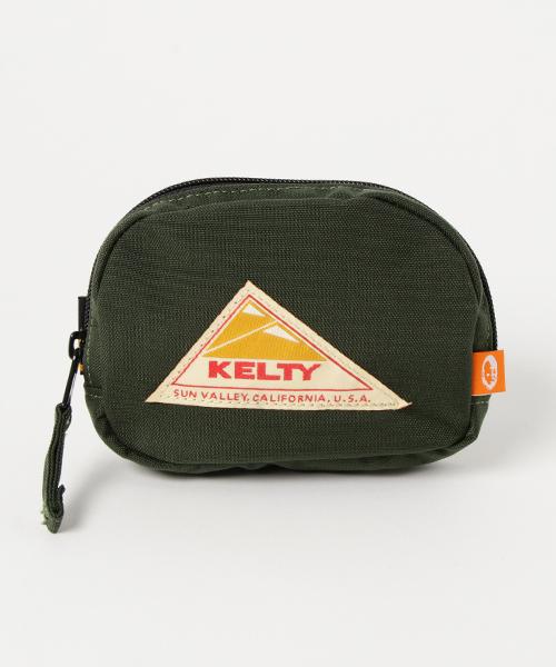 KELTY(ケルティ)の「【KELTY/ケルティ】小物シリーズ ポーチ / DICK MICRO POUCH(ポーチ)」|オリーブ