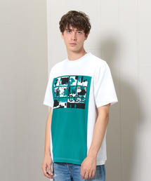 <C.E>GREEN LONG BOX T-SHIRT/Tシャツ.