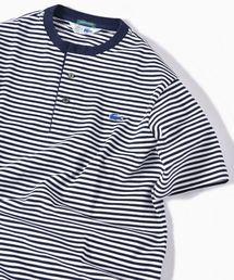 LACOSTE(ラコステ)のLACOSTE: 別注 カノコ ヘンリーネック Tシャツ(Tシャツ/カットソー)