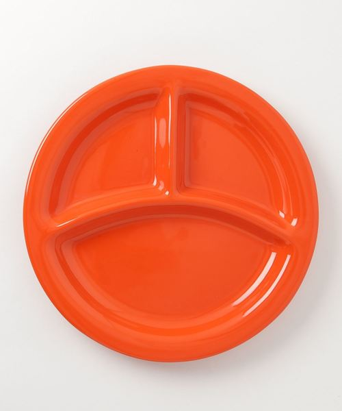 BAUER POTTERY(バウアーポッタリー)の「BAUER POTTERY / バウアーポッタリー GRILL PLATE(食器)」|オレンジ