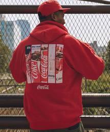 Coca Cola(コカコーラ)のATMOS LAB COCA COLA by ATMOS LAB PANEL PHOTO HOODIE【SP】(パーカー)