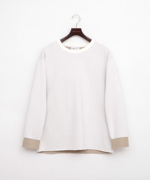 オーバーサイズダブルフェイスニット(EMMA CLOTHES)