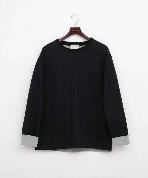 オーバーサイズダブルフェイススプリングニット(EMMA CLOTHES)