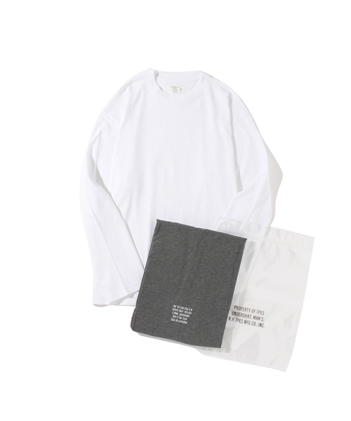 N.HOOLYWOOD AUTUMUN & WINTER 2018 TEST PRODUCT EXCHANGE SERVICE T-SHIRT ONE SET OF 2 T-SHIRTS