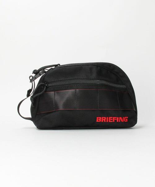 【WEB限定】<BRIEFING(ブリーフィング)>Bシリーズ ラウンド ポーチ