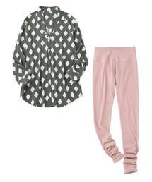 イージーシャツチュニックパジャマ(ルームウェア/パジャマ)