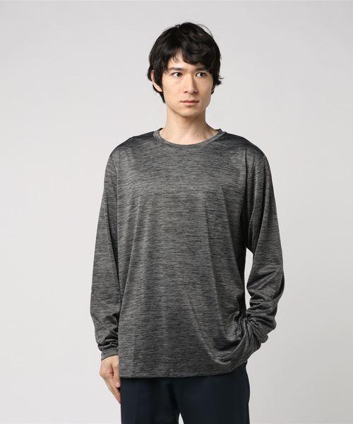 ティゴラ iHEAT(吸湿発熱) 長袖機能Tシャツ TR-9A1668TL