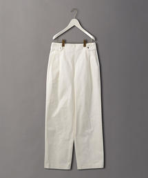 <6(ROKU)>SIDE BELT PANTS/パンツ
