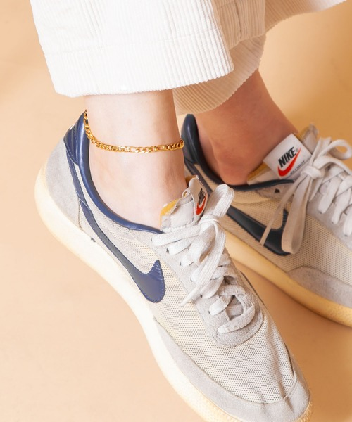 Anthe(アンテ)の「Anthe by yarka / stainless figaro anklet(アンクレット)」|ゴールド