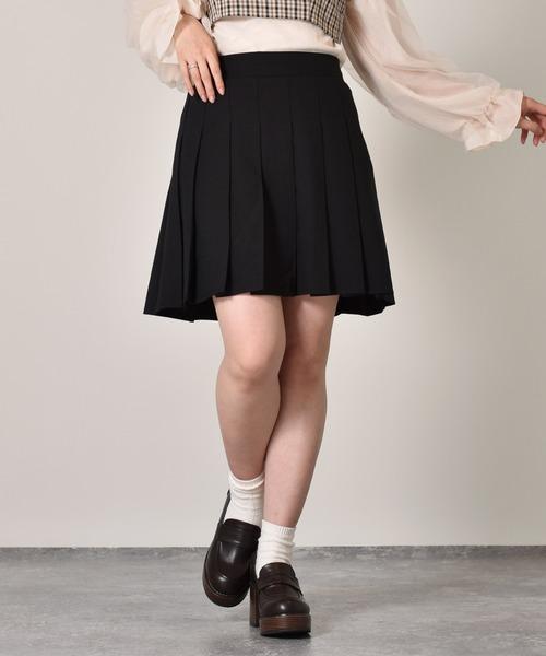 ミニプリーツスカート