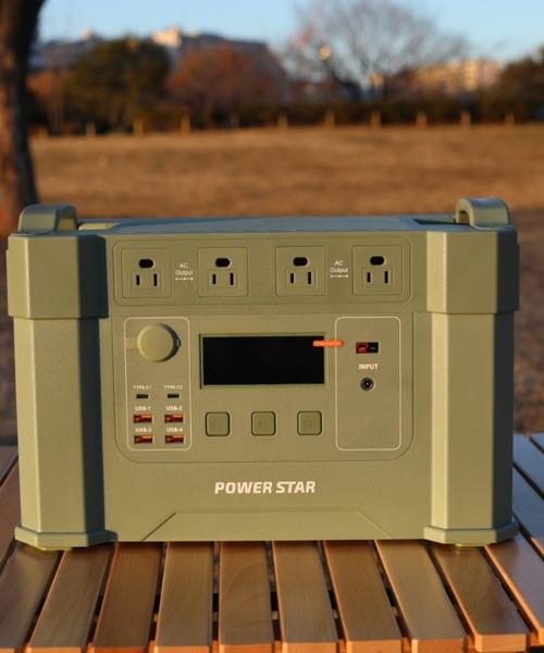 POWER STAR(パワースター)の「2000W 大容量ポータブル電源(生活家電)」|詳細画像