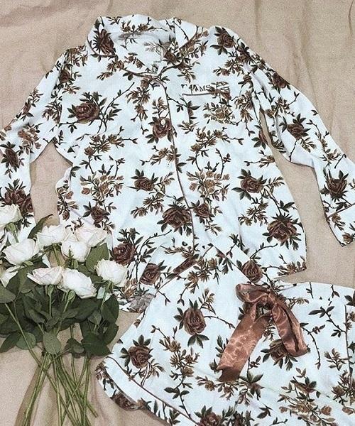 PEACH JOHN(ピーチジョン)の「【雑誌掲載アイテム】イージーシャツパジャマ(ルームウェア/パジャマ)」 ホワイト系その他