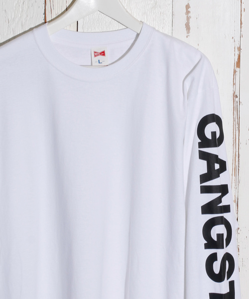 VOTE MAKE NEW CLOTHES / ヴォート ボート P.S.G LOGO L/S TEE / P.S.GロゴロングスリーブTEE 19SS-0009