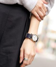 刺繍チェンジベルトウォッチ/腕時計(腕時計)