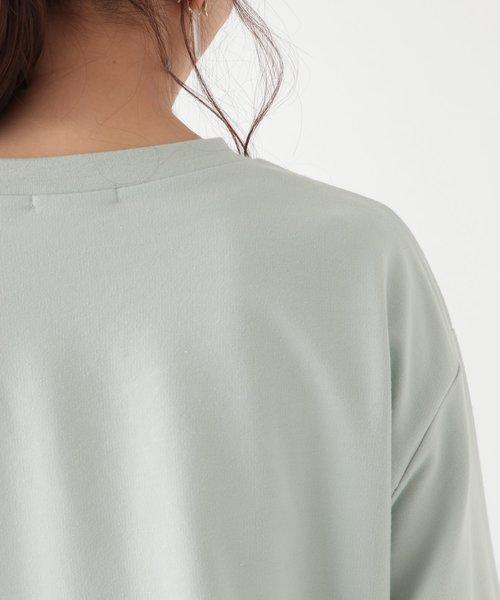 ミニ裏毛プルオーバー×Tシャツセット