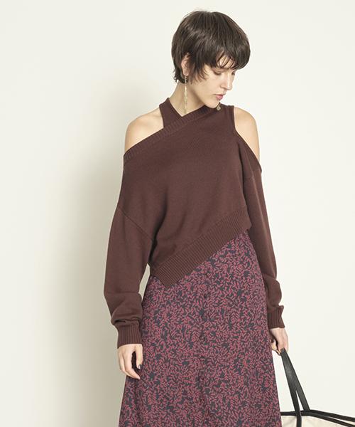 ファッション アシメスリットプルオーバー(ニット I.D,フレイ/セーター) I.D,フレイ|FRAY FRAY I.D(フレイアイディー)のファッション通販, 質 セキネ:74f3323f --- 888tattoo.eu.org
