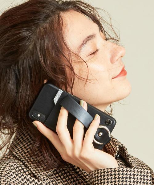 【WEB限定】【別注】∴<tov>レザーiPhone X/XS スライドパスケース