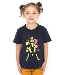 graniph(グラニフ)のコラボレーションキッズTシャツ/仮面ライダーゼロワン(仮面ライダー)(ネイビー)(Tシャツ/カットソー)