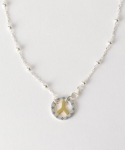 <MAPLE> BEAD LINK C+W/ネックレス