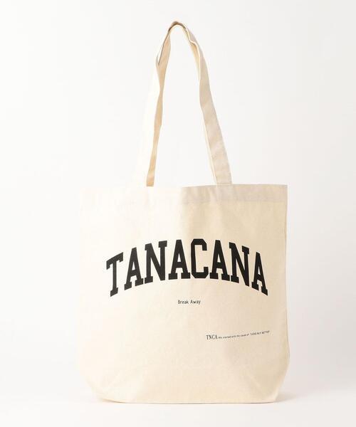 [ Tanacana (タナカーナ) ] SC ロゴ トートバッグ