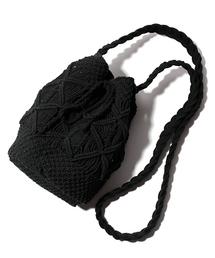 f3babb5cd4da FREAK'S STORE(フリークスストア)の「マクラメ巾着ショルダーバッグ(ショルダーバッグ)