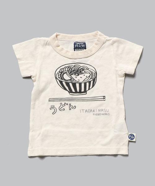 うどん半袖Tシャツ