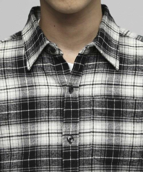 ビエラネルチェックシャツ