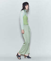 <6(ROKU)>NEW SATIN PANTS/パンツ
