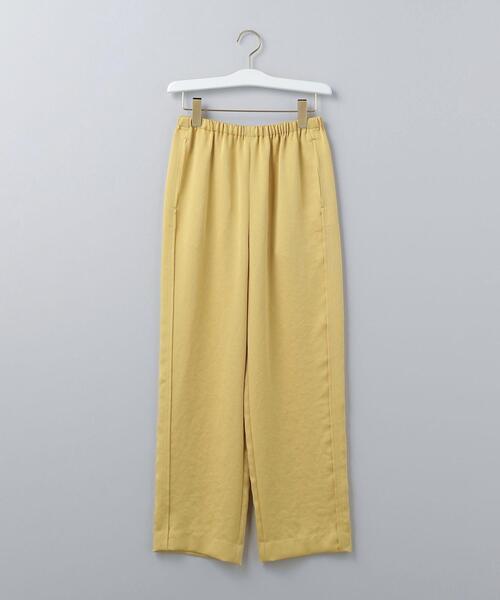 <6(ROKU)>NEW SATIN PANTS/パンツ