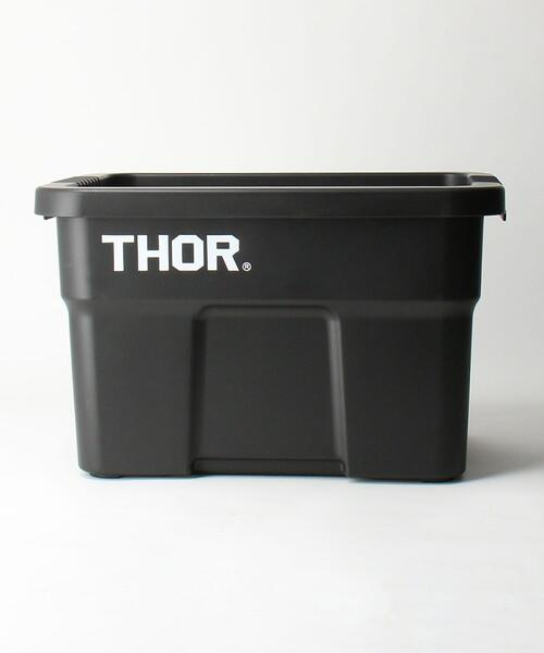 <THOR(ソー)> LARGE TOTES WITH LID 22L/トートボックス/収納グッズ
