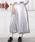 Louches(ルーシュ)の「シャイニープリーツロングスカート(スカート)」|シルバー