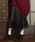 Louches(ルーシュ)の「シャイニープリーツロングスカート(スカート)」|ブラック