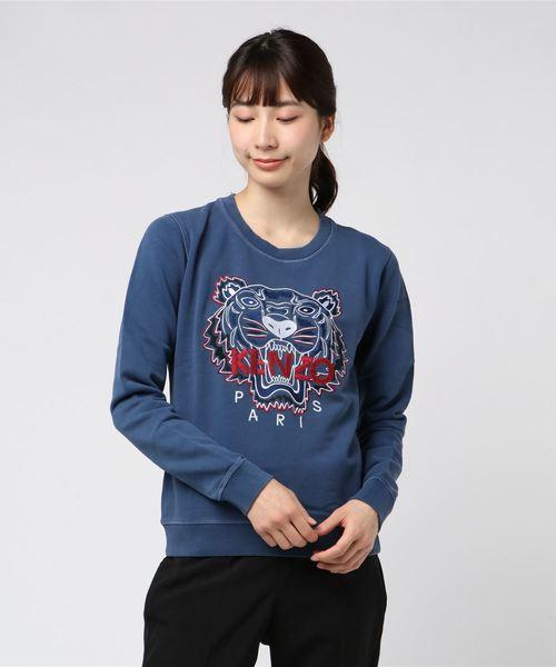 当店の記念日 Bleached Tiger Classic Classic Sweatshirt(スウェット) Tiger|KENZO(ケンゾー)のファッション通販, ice field(アイスフィールド):b5f75f75 --- fahrservice-fischer.de