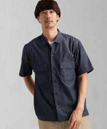 SC ライトデニム ボックスシャツ<機能性 / 吸水速乾>