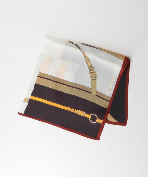 <closet story(クローゼットストーリー)>ブロッキングカラー スカーフ