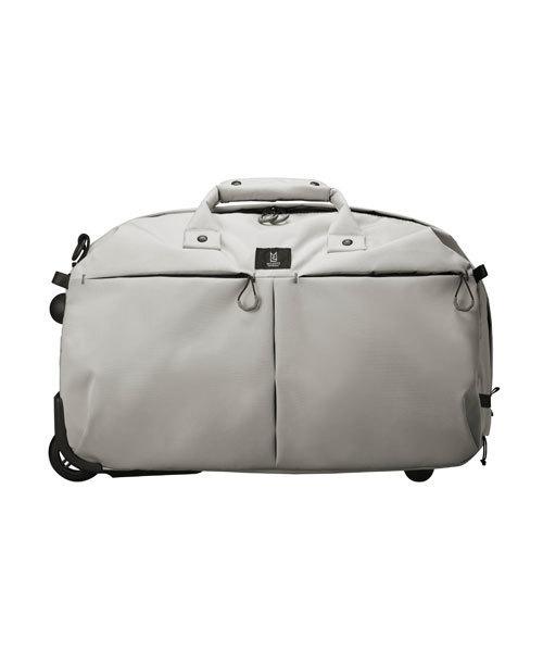 MILESTO(ミレスト)の「TROTダッフルキャリー(スーツケース/キャリーバッグ)」 グレー