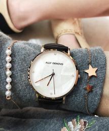 〈ALLY DENOVO/アリーデノヴォ〉Gaia Pearl/ガイアパール(腕時計)