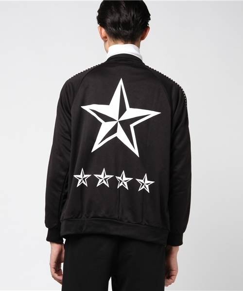AZIONE/アジオネ/StarPrint JerseyBlouson