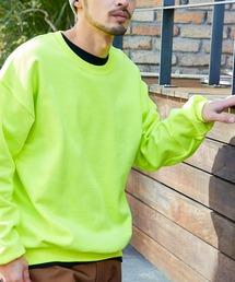 ギルダン USAオーバーサイズ ロングスリーブプルオーバークルースウェット(裏起毛)グリーン系その他6