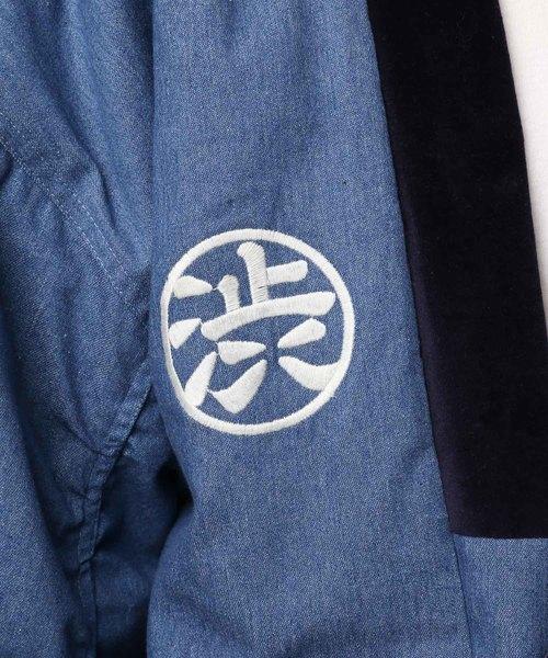 SHIBUYA刺繍SOUVENIRデニム袢纏